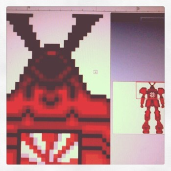 Pixelado o Megazod da Fernanda Takai